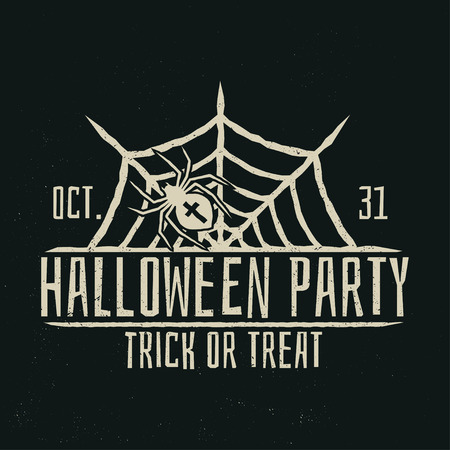 Halloween party concept. Vector illustration. Illustration