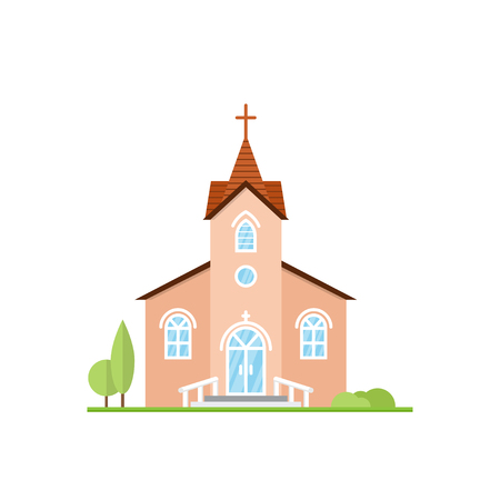 in monastery: Catholic Church landscape.
