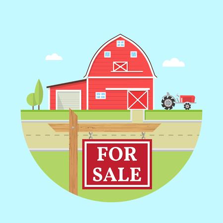 Family farmhouse icon isolated on blue background