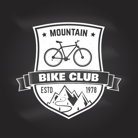 Mountain bike club. Vector illustration. 版權商用圖片 - 90907234