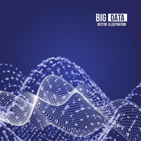 Visual Analytics for big data illustration.