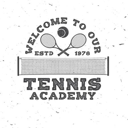 Tennis club. Vector illustration. 向量圖像