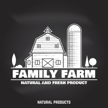 Family Farm Badges or Labels.