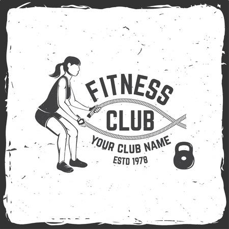 Insignia del club de fitness Para gimnasios emblemas letreros de gimnasio