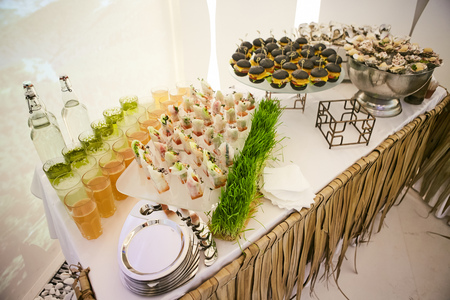 companionship: Catering Eating Companionship Buffet Festive Concept banquet Stock Photo
