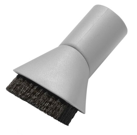 domestic task: Using vacuum cleaner. Vacuum cleaner in action
