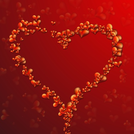 wallpapper: Collection of Beautiful, Vector Hearts