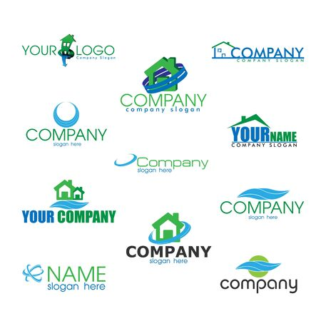 logotypes: Collection of Eco Logotypes in Vector illustration