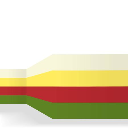 prospects: vector illustration of a beautiful wall prospects in different colors