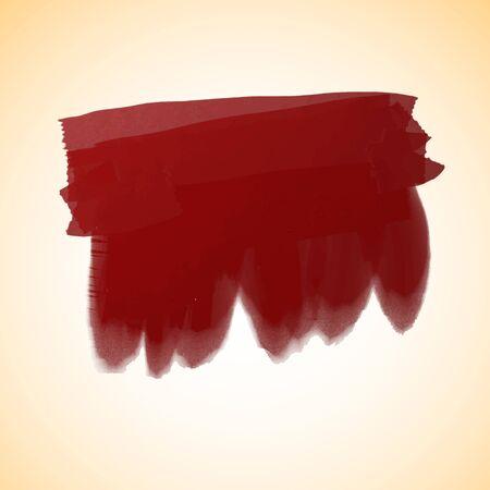 Vector illustration strokes oil paint