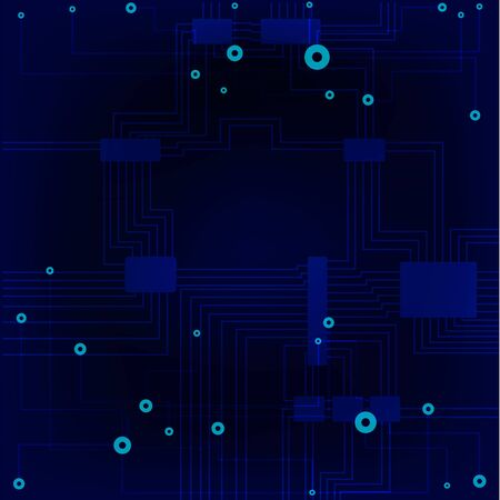 vector illustration background of the sensor board