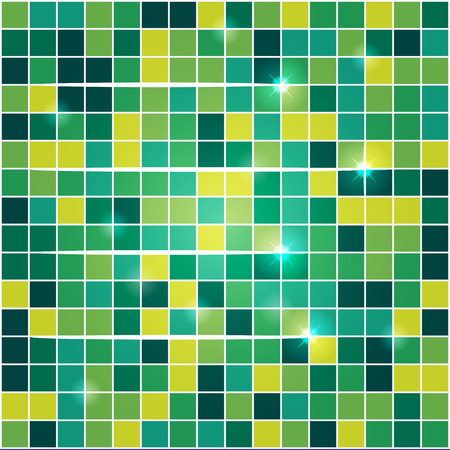 tapet: vector illustration of a beautiful multi-colored tiles with highlights Illustration