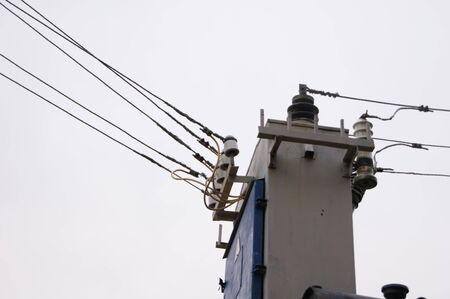 three phase: electricity Stock Photo