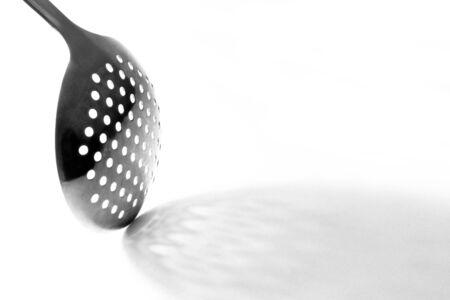 skimmer on a white background
