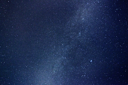 Night sky with stars and nebula. Milky Way 版權商用圖片