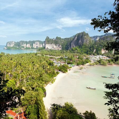 Beautiful views of the tropical landscape. Thailand