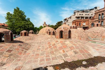 tourist attraction: Sulfur baths in Tbilisi, Georgia