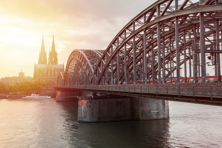 st german: The Cologne Cathedral Stock Photo