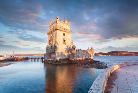 Belem Tower on the Tagus River.