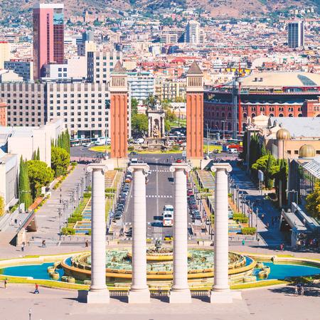 Barcelona, square of Spain, Plaza de Espana