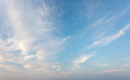 Blue sky with cloud 写真素材