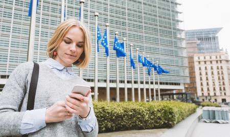 Sede de la Comisión Europea en Bruselas, Bélgica.