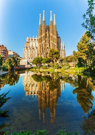 Templo expiatorio de la Sagrada Familia, Sagrada Familia, Barcelona, España