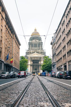 Palace of Justice in Brussels, Belgium