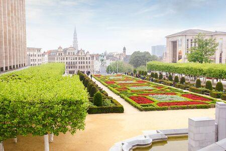 Mount of Arts in Brussels, Belgium Imagens