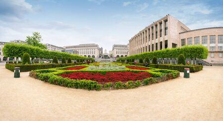 Mount of Arts in Brussels, Belgium Foto de archivo - 133745277