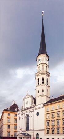 St. Michaels Church in Vienna at Michaellerplatz, Austria Reklamní fotografie