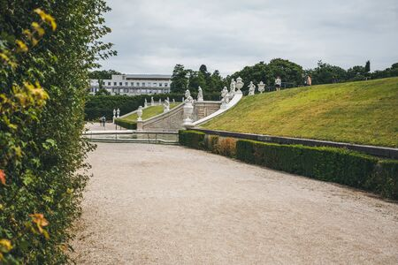 Vienna, Austria. Upper Belvedere Palace. Foto de archivo - 133745273