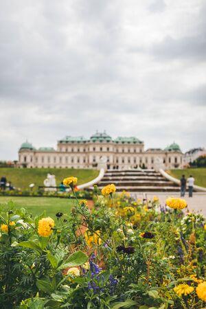 Vienna, Austria. Upper Belvedere Palace. Foto de archivo - 133745275