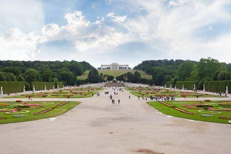 Schonbrunn Schloss Park and Glorietta Pavilion