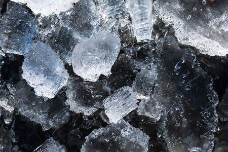 Frozen ice texture Reklamní fotografie