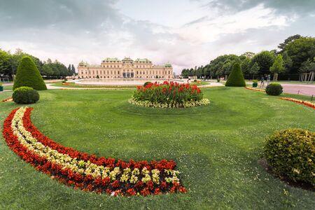 Vienna, Austria. Upper Belvedere Palace.