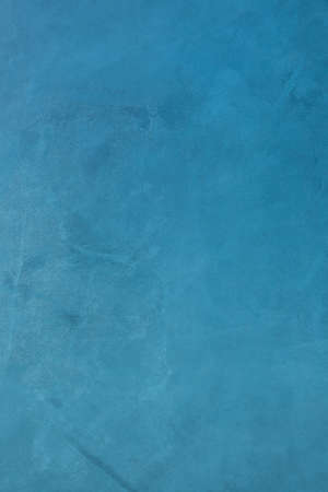 Blue microcement texture background