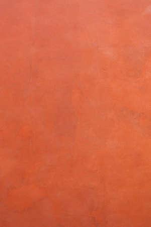 Terracotta microcement texture background