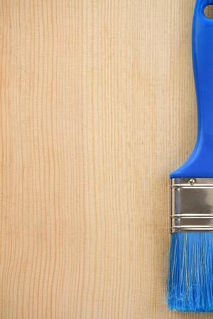 paintbrush on wood background texture Stock Photo - 11927223
