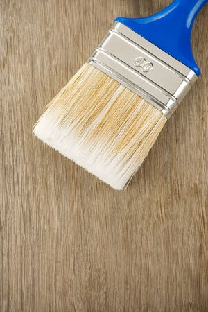 paintbrush on wood background texture Stock Photo - 11927242