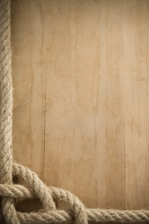 rope background: ship rope and old wood background texture