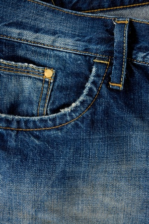 blue jean texture background Stock Photo - 12311622