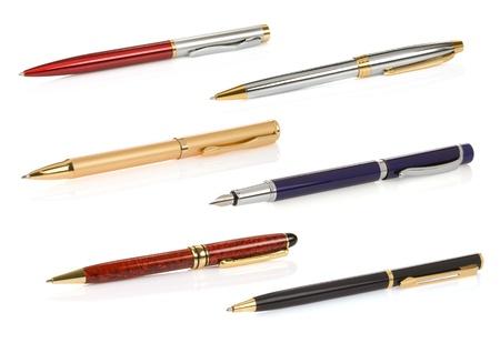 ballpoint pen: pen isolated on white background