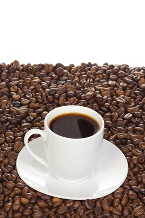 image of coffee and cup photo