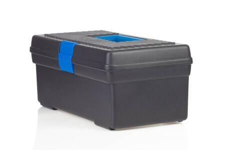 toolbox isolated on white background photo