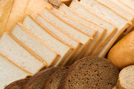 assortment of baked bread as background Stock Photo - 15460069