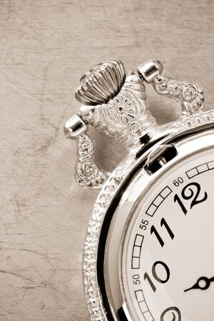 watch mechanism at metal background texture photo