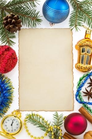 christmas decoration isolated on white background Stock Photo - 22295952