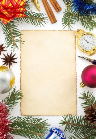 christmas decoration isolated on white background Stock Photo - 23677372