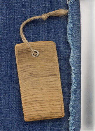 blue jeans as background texture photo